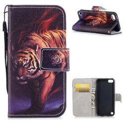 Mighty Tiger PU Leather Wallet Case for iPod Touch 5 6