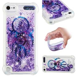 Retro Wind Chimes Dynamic Liquid Glitter Sand Quicksand Star TPU Case for iPod Touch 7 (7th Generation, 2019)